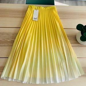 Yellow Ombré Skirt